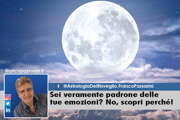 Franco Passarini, astrologia, emozioni, Luna